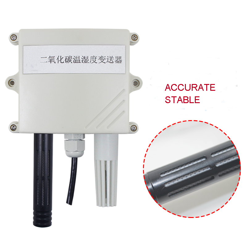Air Conditioning Appliance Parts Back To Search Resultshome Appliances Co2 Sensor Transducer Carbon Dioxide Sensor For Monitoring Concentration Of Agricultural Greenhouse Rs485 Modbus