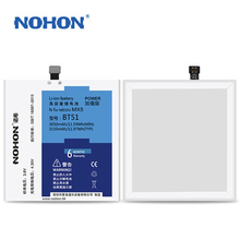 Top Quality NOHON Battery 3050mAh~ 3150mAh For Meizu BT51 MX5 Replacement Bateria