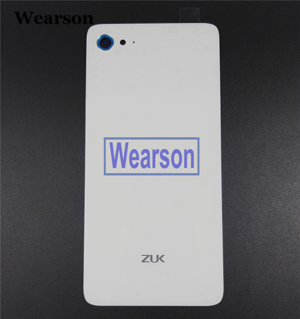 For Lenovo ZUK Z2 PLUS Back Cover Z2 PLUS Battery Cover Glass+Glue 100% Original New Free Shipping With Tracking Number (4)