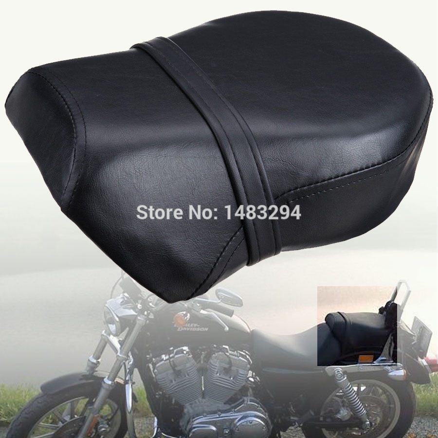 Rear Pillion Passenger Seat Fits fits for Harley Sportster 883L 883C 883 883N XL1200 2007-2014