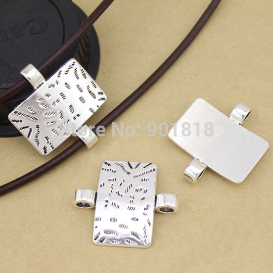 10pcs/lot jewelry connector Antique silver Color Alloy Pendant connectors Jewelry Findings F1068 alloy panda pendant jewelry set