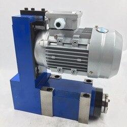 0.37kw v-belt unidade do eixo mt3 cabeça de alimentação 8000rpm 370 w motor de indução cnc roteador