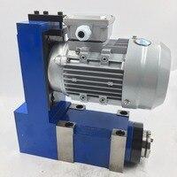 0.37KW V Belt Spindle Unit MT3 Power Head 8000rpm 370W Induction Motor CNC Router