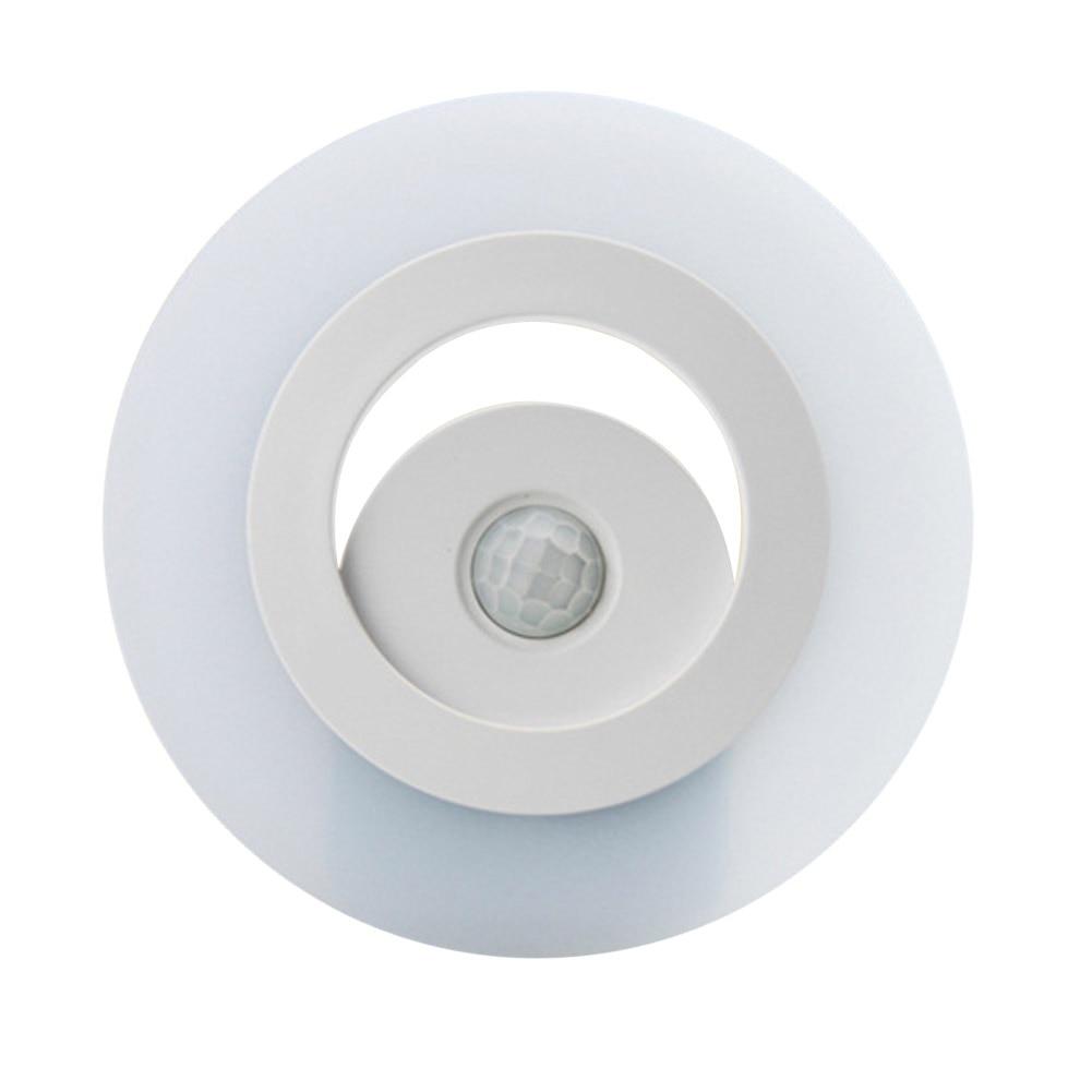 Auto Body Sensors LED Light Motion Detector Warm White Night Lamp ...