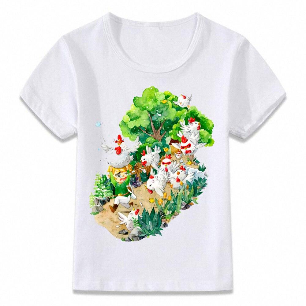 Tops & Tees Lovely Womens T Shirt Neon Link Breath Of The Wild Princess Zelda Gamer Girls Tee T-shirts