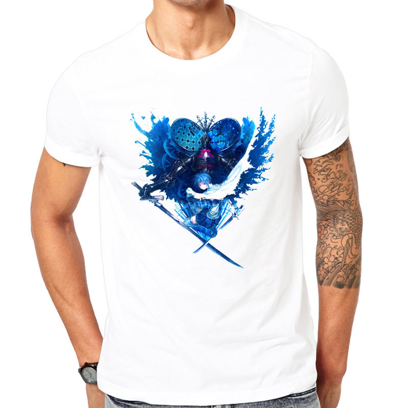 Hip Hop High Fashion T Shirts Men 2017 New Male Clothing Shirts Section Mens Short Sleeve T-shirt Super Warrior print Tee