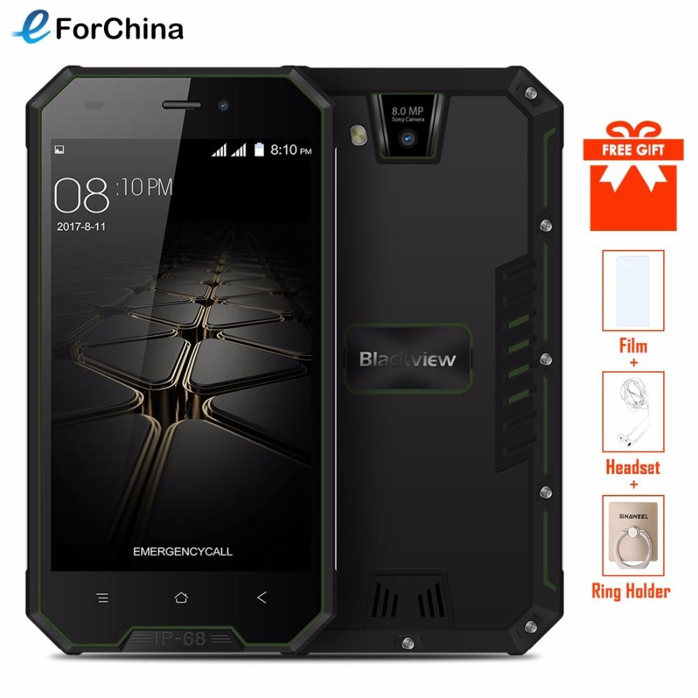 Blackview BV4000 Pro IP68 Étanche Smartphone 4.7 HD MTK6580A Quad Core Android 7.0 2 gb + 16 gb 8.0MP caméra 3g Mobile Téléphone