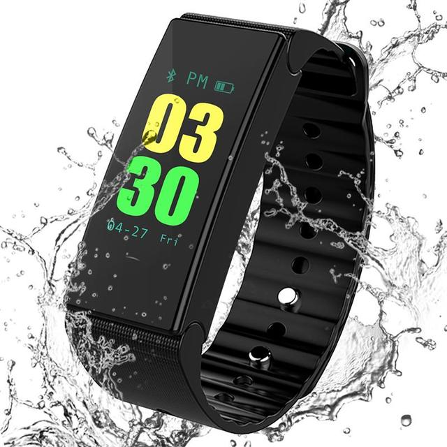 D1 Plus Smart Band IP67 Waterproof Pedometer Tracker Fitness Men Women Wearable Device Smartband Smart Bracelet For IOS Android