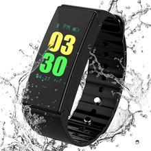 D1 Smart Band IP67 Waterproof Pedometer Heart Rate Monitor Tracker Fitness Wearable Device Smartband Smart Bracelet pk mi band