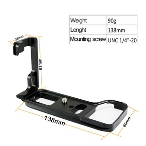 Image 3 - Poignée de support de plaque L à dégagement rapide pour Sony Alpha A9/A7 III/A7R III A7M3 A7RM3 caméra pour tête de trépied Arca Swiss