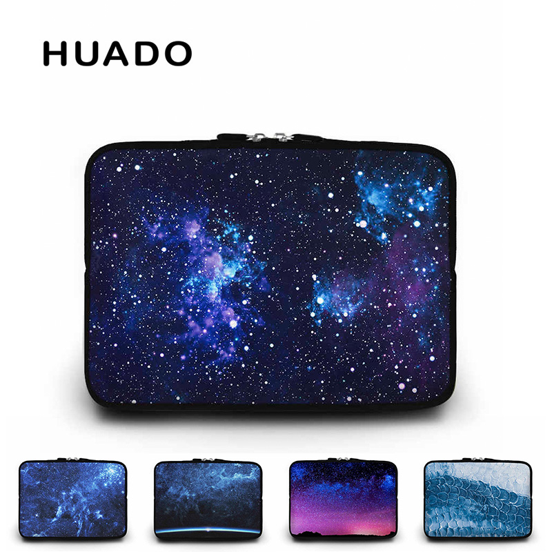 Starry sky laptop sleeve 15 notebook bag 15.6 17 17.3 computer covers 13 12 teblet case for macbook air/xiaomi 13.3/ asus