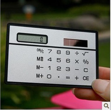 South Korea s lovely high end ultra thin portable card solar font b calculator b font