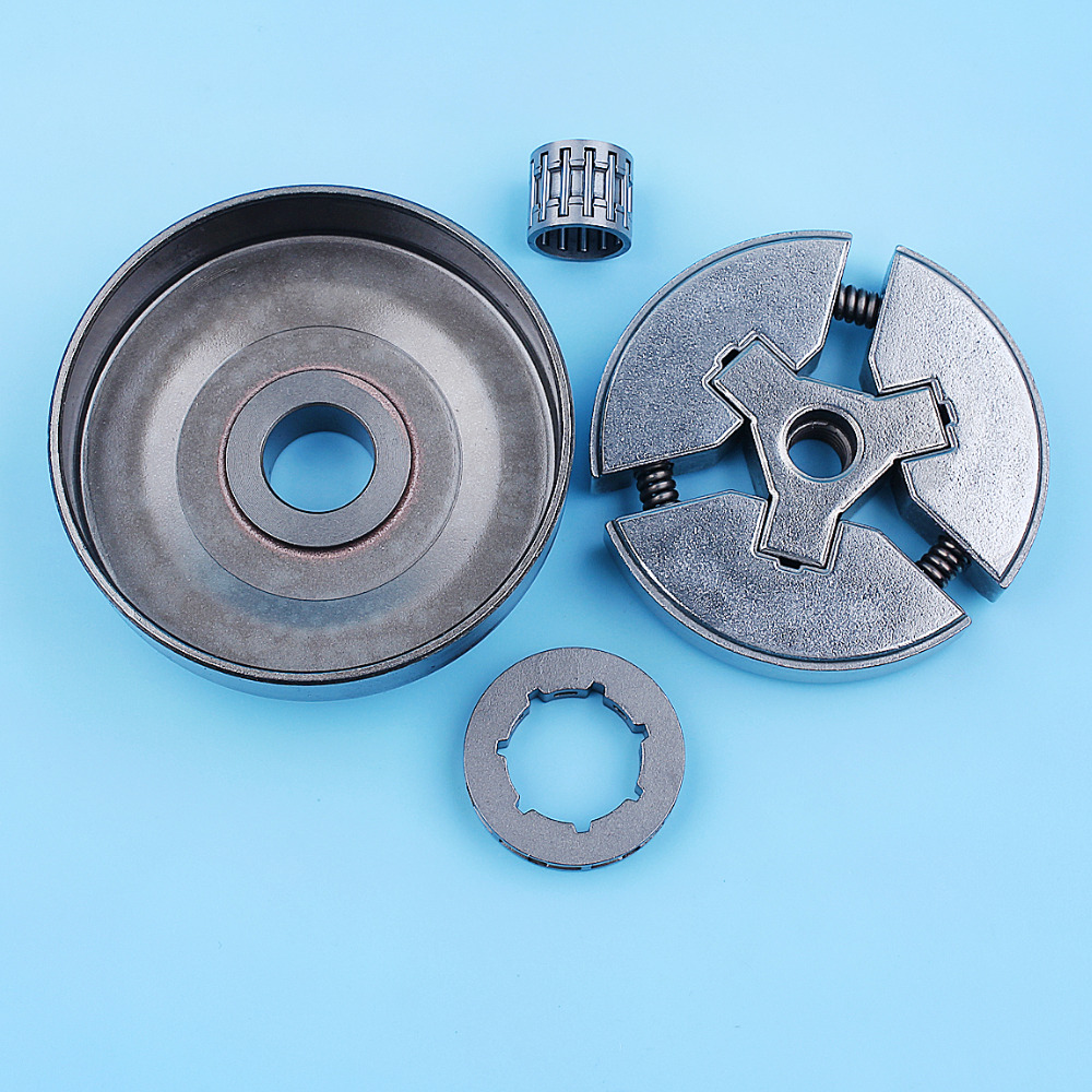 Tools :  325inch Clutch Drum Bell Rim Sprocket Bearing Kit For Husqvarna 262XP 262 261 Chainsaw 503577101 3-Shoe Type Needle Cage
