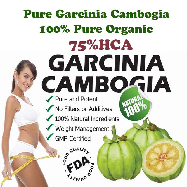( 2 bottles for 2 months SUPPLY ) Pure garcinia cambogia slimming products 75% HCA loss weight diet product for women