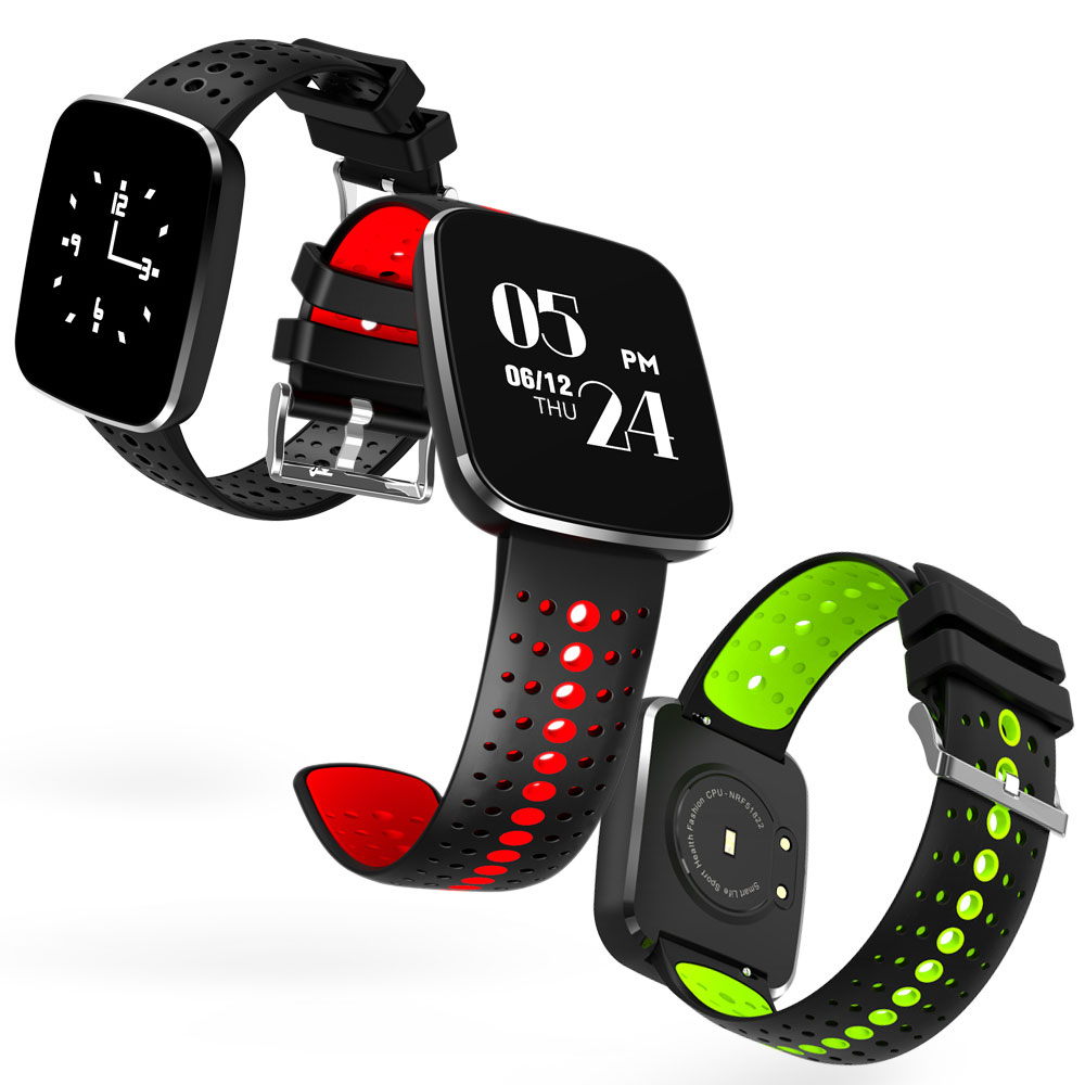 LESTOPON Waterproof Smart Band Fitness Tracker Bracelet Sports Wristband With Heart Rate Blood Pressure Monitor Pedometer