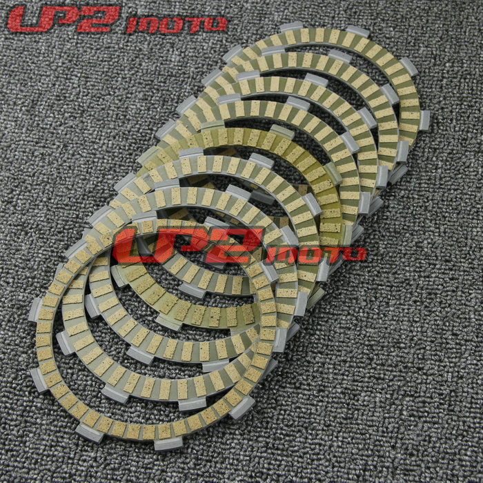 For Honda CB900 CB919 Hornet 900 2002 2007 Paper Based Clutch Friction Kit Disc Plates Set Motorbike Parts Accessories