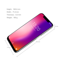 """cell phone screen UMIDIGI one Octa Core cell phone 5.9"""" FHD+Full Screen  4G+32GB F/1.7 Android 8.1 4G Smartphone gsm mobile phone unlocked cell (4)"""
