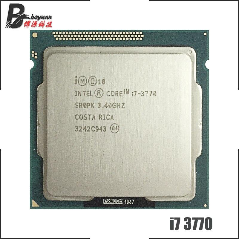 Intel Quad Core i7-3770 3.4Ghz 8MB Cache LGA1155 Processor CPU