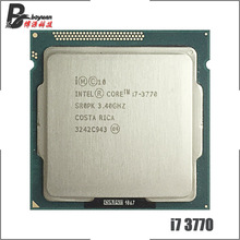 معالج انتل كور i7 3770 i7 3770 3.4 جيجاهرتز رباعي النواة 8M 77W LGA 1155