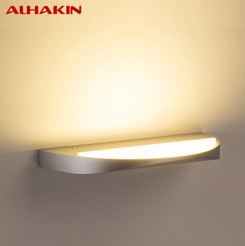 Lighting Basement Washroom Stairs: ALHAKIN 10W Wall LED Light Up Stair Light 2700 3000K