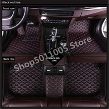 Tesla 3 Tesla S Tesla X  weather waterproof non-slip floor mat leather Car Floor Mats Matscar Floor Mats Custom Waterproof Mat for ford focus brand leather wear resisting car floor mats black grey brown beige non slip waterproof 3d car floor carpets