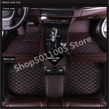 Tesla 3 weather waterproof non-slip floor mat leather Car Floor Mats Matscar Floor Mats Custom Waterproof Mat купить недорого в Москве