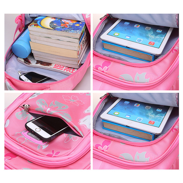 VRTREND New Children School bags For Girls Primary School BookBag For Boys Grils SchoolBags Kids Printing Backpack mochila
