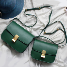 купить Luxury Brand Female Crossboby Bag Bolsas Feminina Women Bag Genuine Leather Ladies Shoulder Bag Fashion Girl Handbag Birth Gift по цене 4890.7 рублей