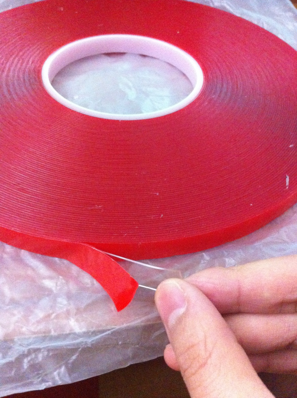 1x 10mm*33 meters*0.8mm double sided transparent acrylic Adhesive Tape for metal / glass / marble / car accessories attachment 5x 5mm 33 meters 0 8mm double sided transparent acrylic glue adhesive tape for auto glass metal car track shim attachment