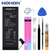 NOHON 2225mAh High Capacity Battery For iPhone 6S 6 S Replacement Batteris Mobile Phone Batria For iPhone 6S Large Capacity