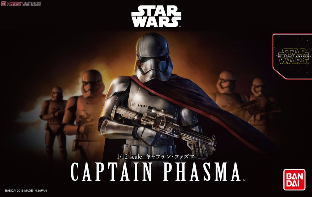 ФОТО Bandai Star War 1/12 Captain Fazuma Plastic model Toys Figure