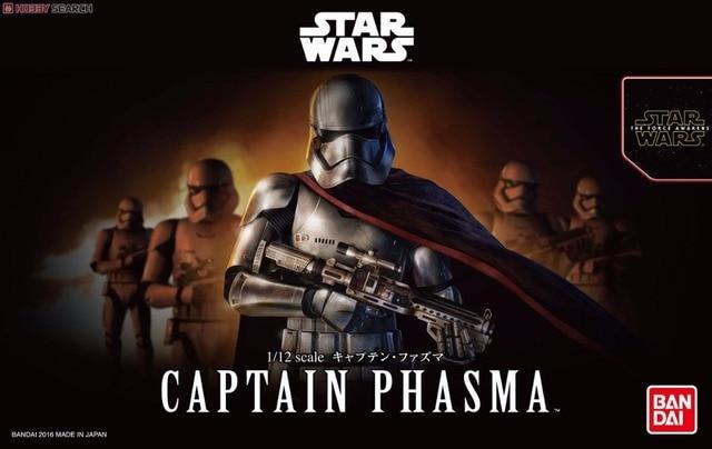 Bandai Star War 1/12 Captain Fazuma Plastic model Toys Figure