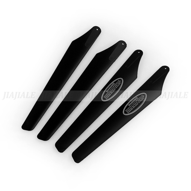 Free Shipping + Wholesale S031G – 08 main blades 2A +2 B spare parts Main Rotor Tee S031 Gyro Metal RC Helicopter Parts
