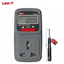 Официальный подлинное Youlide UNI-T Многофункциональный Измерение мощности UT230C розетка контролируемых часы