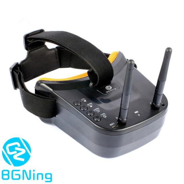 """5.8G FPV LST 009 3 calowe dwuantenowe okulary wideo 3 """"40CH Mini gogle FPV dla RC Racing Drone Racers FPV skrzynia biegów akcesoria"""