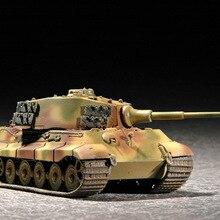 Model Tank Turret Military-Assembly German Tiger-King Vehicle 1:72 07201 Henschel World-War-Ii