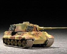 1:72 World War II German Tiger King Henschel Turret Tank Military Assembly Model Military Vehicles 07201