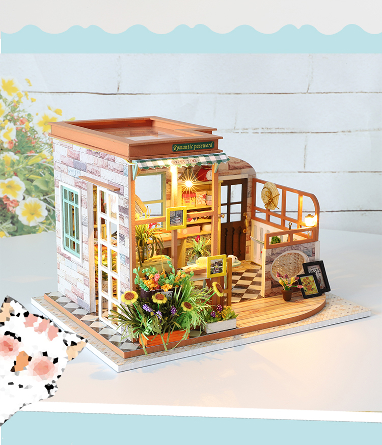 Romantic Password DIY 3D Dollhouse