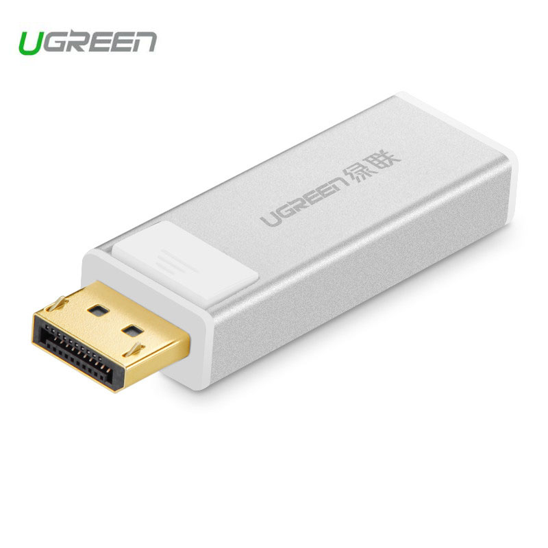 UGREEN DP To HDMI Adapter Displayport To Hdmi HD Interface 4K Male To Female Converter Head