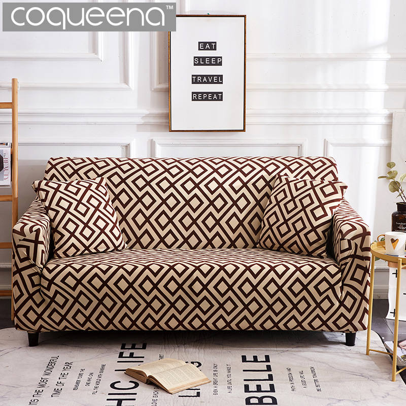 Us 16 92 53 Off New Universal Stretch Sofa Covers For Living Room Elastic Furniture Armchair Sectional Couch Slipcover 1 2 3 4 Seat In