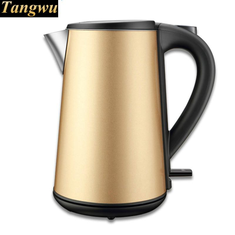 Electric heating kettle household mini 304 stainless steel boiled water automatic power off eupa household electric kettle 304 stainless steel heat electric boiled tea kettle tsk 3170c
