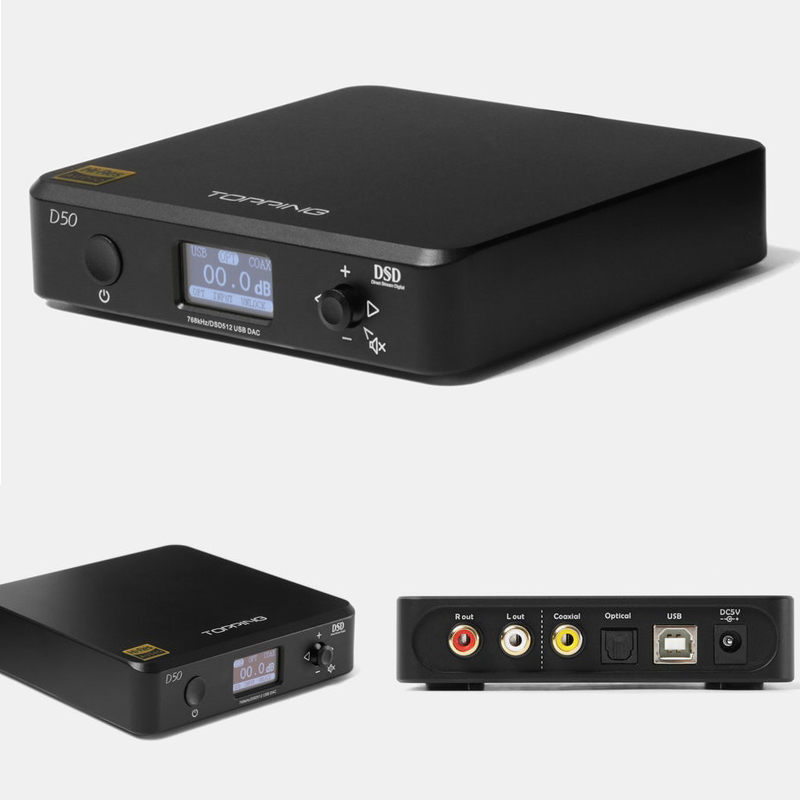 Topping d50 dac audio es9038q2m usb decoder player amplifier dac usb amplifiers xmos dsd256 dsd dac desktop hifi amplifier audio цена
