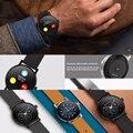 Lemado sma09 smart watch suporte controle de voz siri smartwatch inteligente bluetooth gesto de monitoramento da freqüência cardíaca para andorid ios