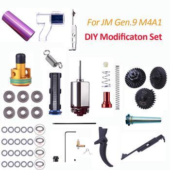 2018 высокопроизводительный модифицированный комплект для JM Gen.9 M4A1 коробка передач модификация и обновление пистолет игрушка запчасти тест ...