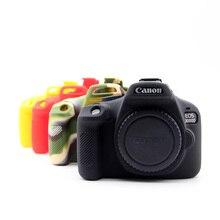 Черный резиновый силиконовый чехол крышка кузова мягкий протектор Рамка кожи для Canon EOS 3000D 4000D Rebel T100