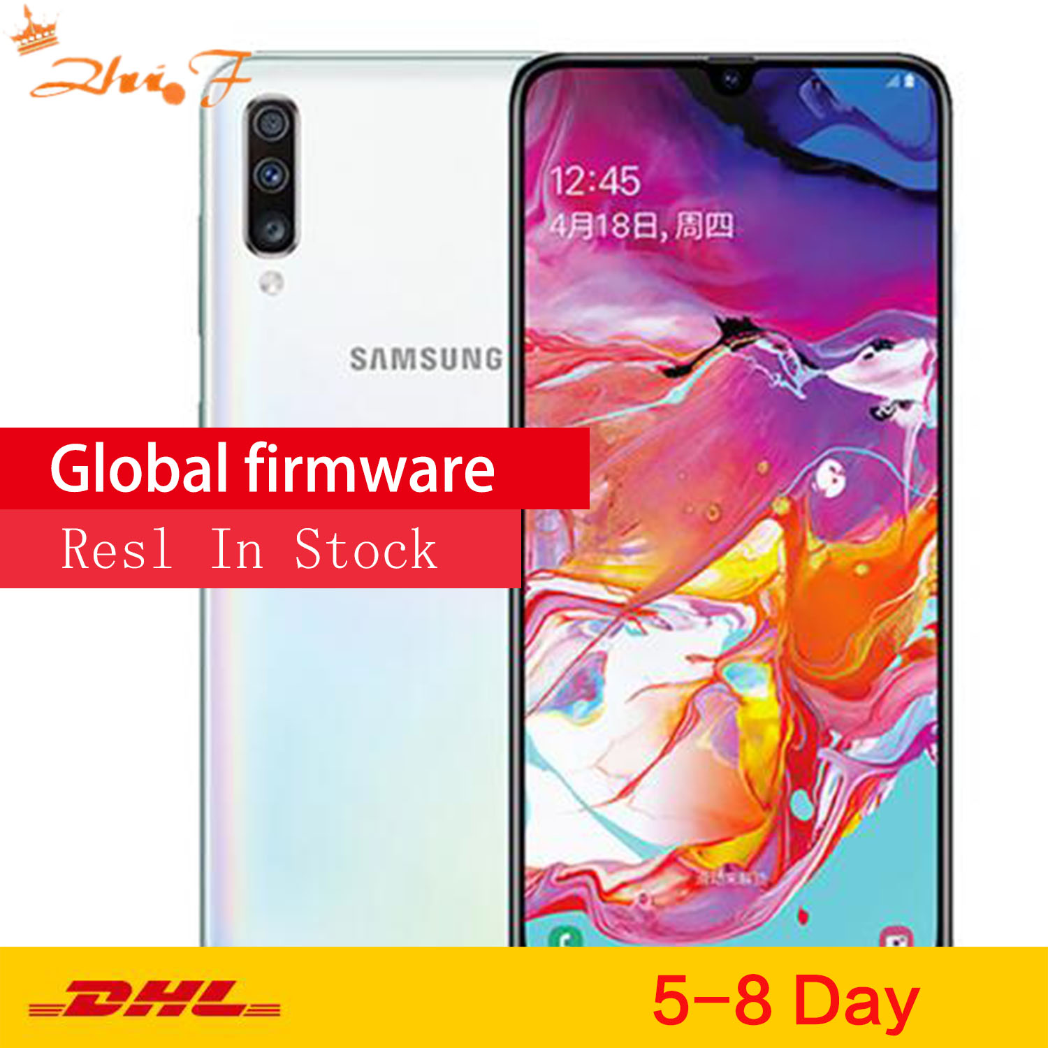 Samsung Galaxy A70 /a7050 6GB/128GB Full Screen Mobile Phone Large Screen Fingerprint Dual Card Dual Wait image