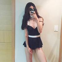 a7b35ae36aab8c Womens One Piece Swim Suit Korean Swimsuit Swimsuits Woman 2019 Closed At  New Female Swimwear Sexy
