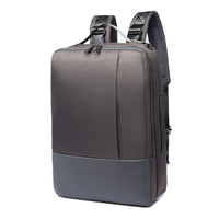 Badiya Multi Function Backpack Men Waterproof Polyester Laptop Backpacks Large Capacity Casual Travel Shoulder Bag Sacoche