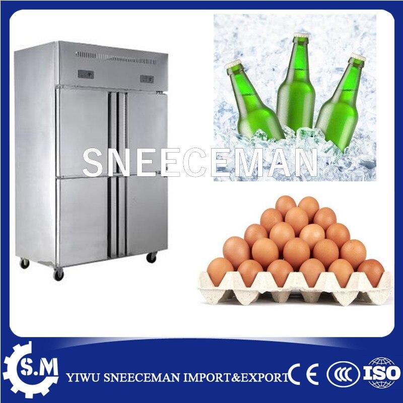 4 Door Hotel Restaurant Kitchen Upright Deep Freezer