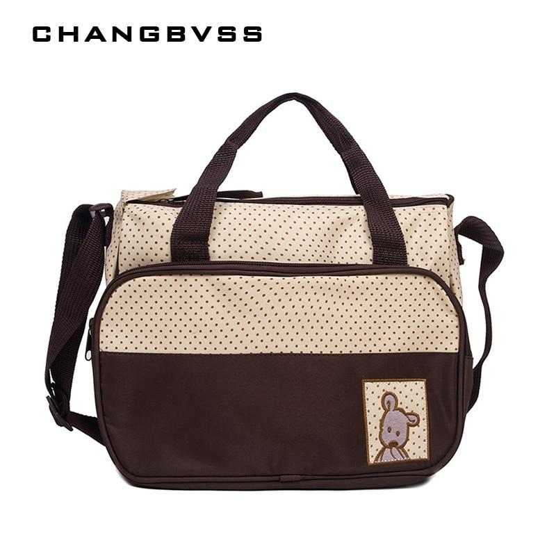 Large Capacity Diaper Bag Baby Bag For Nappy Organizer Multi Pocket Maternity Bag For Mom Baby Nursing sac a langer maternite